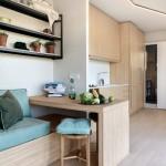4-birou interior casa din container Cocoon Modules