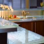 4-blat de lucru din sticla securizata transparenta bucatarie moderna