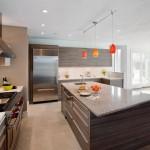 4-bucatarie gri design modern mdf imitatie fibra lemn tendinte 2015