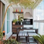 4-bucatarie mica de exterior amenajata in balconul unui apartament