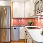 4-bucatarie moderna mobila pe colt combinatie fag si vanilie