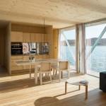 4-bucatarie moderna spatioasa casa plutitoare Floatwing
