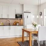 4-bucatarie open space mobila forma L apartament 2 camere