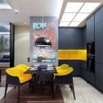 4-bucatarie si dining open space apartament modern 2 camere semidecomandat