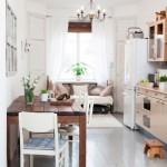 4-bucatarie si living open space extinse in balcon apartament mic