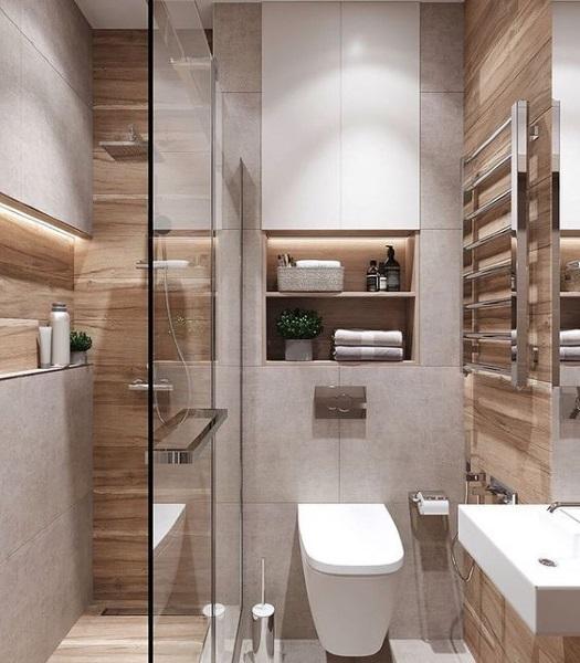cabina dus walk in wc suspendat baie mica