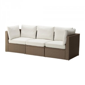 4-canapea imitatie rattan model Arholma Ikea