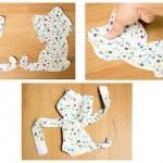 4-coaserea celor doua pisicute accesorii de prindere pentru perdele si draperii