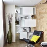 4-colt de lectura si relaxare amenajat langa locul de luat masa din living