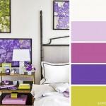 4-combinatii culori dormitor gri violet si galben mustar