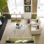 4-comoda cu sertare in amenajarea unui living modern elegant