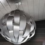 4-corp de iluminat modern amplu decor bucatarie in nuante de gri
