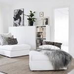 4-covor de sisal in amenajarea unui living modern