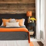 4-culoarea portocalie in calitate de accent cromatic intr-un decor vintage