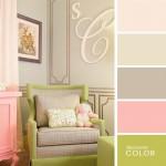 4-decor camera copil in nuante de crem vernil si roz pal
