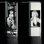 4-design usi de interior din sticla cu imprimeu decorativ tip tablou