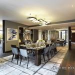 4-dining room apartament knightbridge londra