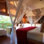 4-dormitor cu deschidere spre padurea de pe insula africana Vamizi