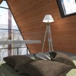 4-dormitor in etajul mansardat a unei case prefabricate MADI Home