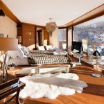 4-dormitor luminos si mare cu covor din imitatie de blana
