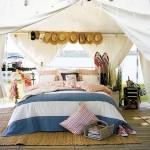 4-dormitor romantic si confortabil amenajat intr-un cort de gradina