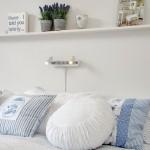 4 etajera deasupra patului din dormitor