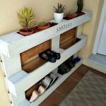 4-etajera pantofar pentru spatiu de la intrearea in casa