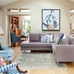 4-exemplu amenajare living modern cu canapeaua asezata spre centrul incaperii