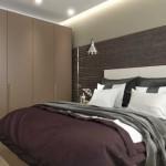 4-exemplu de amenajare a unui dormitor modern de 10 mp in nuante de gri maro si alb