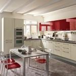 4-exemplu de amenajare bucatarie moderna in alb si rosu