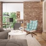 4-fotoliu bleu design de inspirate retro decor living modern