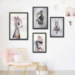 4-galerie tablouri perete din desenele copiilor