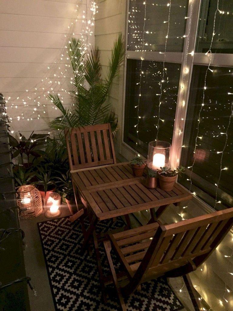 4-ghirlande luminoase brad amenajare balcon