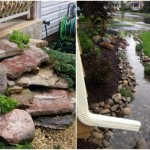 4-idee amenajare si constructie parau decorativ sub burlanul de ploaie al casei