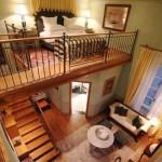 4-idee casa foarte mica cu scara interioara si dormitor loft