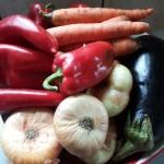 4-ingrediente zacusca de ghebe