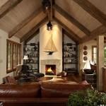 4-interior living casa noua construita in stil Tudor firma arhitectura Murphy co Design