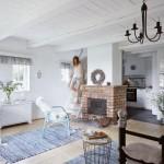 4-interior living open space cu bucatarie casa taraneasca Polonia