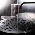 4-lavoar baie culoare neagra design stroehmann