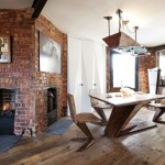 4-living dining si bucatarie open space apartament stil industrial londra