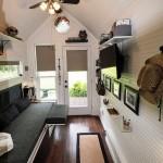 4-living mic casa din lemn de 12 mp