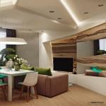 4-living mic open space decorat in culori vii
