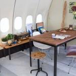 4-loc de luat masa avion transformat in hotel klm amsterdam