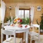 4-loc de luat masa casa taraneasca din lemn