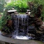 4-mini cascada rustica piatra de rau decor curte si gradina