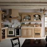 4-mobila din lemn natur bucatarie amenajata in stil rustic