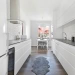 4-mobila pe doua laturi amenajare bucatarie alba minimalista