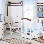 4-mobilier camera bebe Klups Rafal alb si maron magazin Gargarita Mica