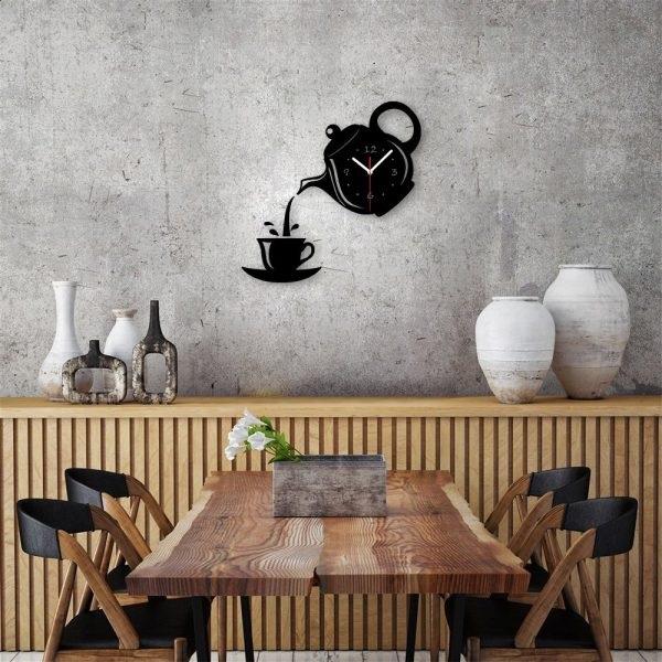 4-model ceas de bucatarie in forma unui ceainic si a unei cesti de cafea