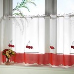 4-model perdea scurta pentru bucatarie jumatate de jos a ferestrei